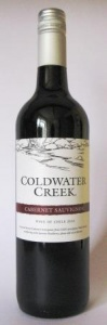 ColdWater  Creek Cabernet Sauvignon case of 6 or £5.99 per bottle
